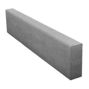 Камень бортовой (поребрик) (1000х200х80)